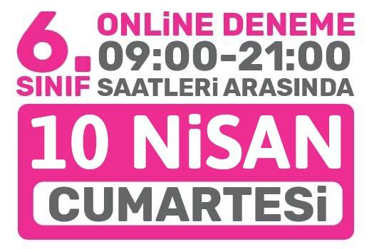 Türkiye Geneli Online Deneme 6. Sınıflar