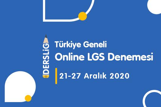 Türkiye Geneli Online LGS Deneme Sınavı 1
